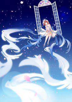 e-shuushuu kawaii and moe anime image board Anime Sakura, Manga Anime, Moe Anime, Anime Art, Cardcaptor Sakura, Kaleido Star, Sakura Card Captors, Hokusai, Clear Card