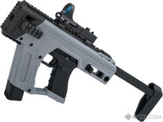 Shop Length: 10 - 19 (Folded-Open) Compatibility: Tokyo Marui / WE Tech 17 style and other compatible gas blowback Airsoft pistols Material: printed polymer Manufacturer: SRU . , Accessories & Parts, External Parts, Conversion Kits, Gas Pistol Kits Weapons Guns, Airsoft Guns, Guns And Ammo, Custom Glock, Custom Guns, Best Handguns, Tokyo Marui, Concept Weapons, Cool Guns