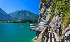 Wandern am See und Wanderurlaub im Wanderhotel direkt am See in Österreich.