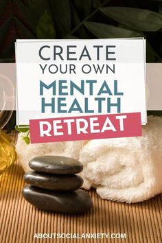 Mental health retreats don't have to be expensive! Use this guide to plan yourself a DIY mental health retreat you can even do at home. Mental Health Retreat, Mental Health Journal, Mental Health Awareness, Home Remedy For Cough, Natural Sleep Remedies, Anxiety Tips, Social Anxiety, Yoga, Massage