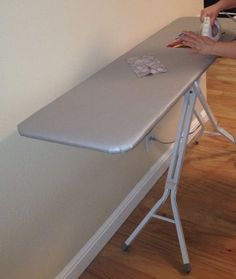 How To Convert A Regular Ironing Board Into a Quilter's Ironing Board