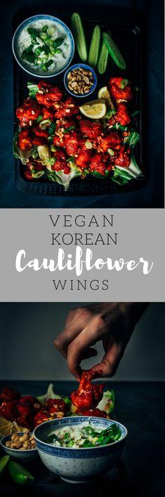 A Korean twist on the classic vegan cauliflower wing!