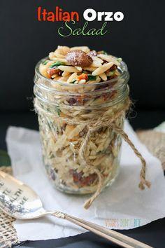 Italian Orzo Salad Recipe on Yummly