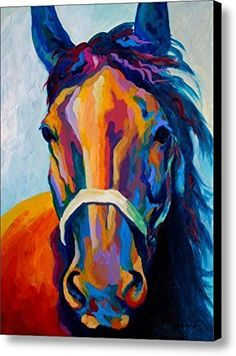 NAN Wind Horse Art Prints On Canvas Animal Painting For Home DecorationHorse Pattern19 x 25 inch canvas *** Click on the image for additional details.