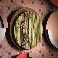 Geert Pattyn made this beautiful flower wall! Deco Floral, Art Floral, Floral Wall, Floral Design, Flower Frame, Flower Art, Wedding Stage Design, Corporate Flowers, Modern Flower Arrangements