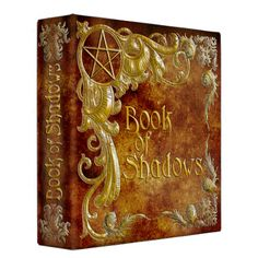 Shop Book Of Shadows with Gold Highlights Binder created by LilithDeAnu. Pagan Witchcraft, Wiccan, Magick, Traditional Witchcraft, Witch Spell, Gold Highlights, Binder Design, High Art, Custom Binders