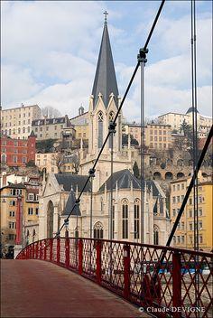 L'Eglise Saint-Georges - Lyon patrimoine Unesco