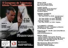 BUDOKAN SEVILLA blog: II Congreso Takemusu Aikido Tradicional