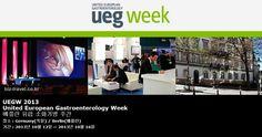 UEGW 2013 United European Gastroenterology Week 베를린 유럽 소화기병 주간