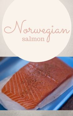 After exploring Epcot at Walt Disney World in Orlando, Florida, Carla Hall was inspired to make her own Norwegian Salmon dish.