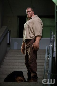 """Supernatural -- """"Everyone Hates Hitler"""" -- Image SN814b_0098 -- Pictured: John Desantis as Golem -- Credit: Liane Hentscher/The CW --  © 2013 The CW Network. All Rights Reserved"""
