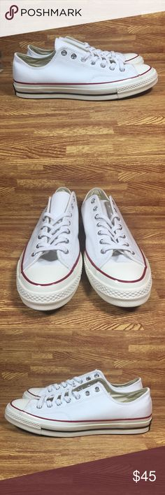 57c3a5e6ae0b Converse CTAS Low OX White Mens Chuck Taylor AS Mens size Women s Brand new  No box Ships within 24 hours All sales are final Converse Shoes Sneakers