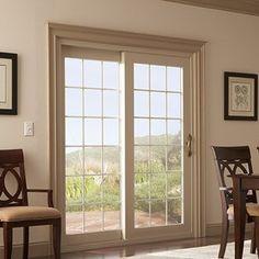 Classic-Style Sliding Patio Door Sliding Patio Doors, Classic Style, Porch, Yard, Windows, House, Balcony, Patio, Home