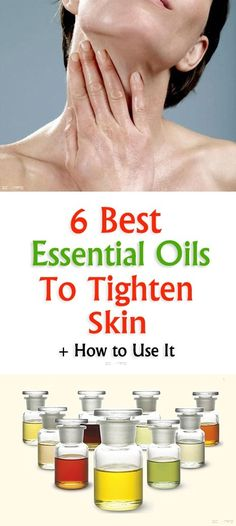 6 Best Essential Oils To Tighten Skin and How to Use It! Loose or Saggy skin is a result of various factors. It is a widespread problem and many women are experiencing it everywhere skin care List Of Essential Oils, Essential Oil Blends, Ayurveda, Tighten Loose Skin, Tighten Stomach, Skin Tightening Cream, Oil For Dry Skin, Coconut Oil Uses For Skin, Sagging Skin