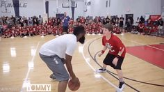 James Harden Owned This Child So Hard And The Internet Cannot Deal - Blooper News - Hot Trending Topics Now James Harden, Funny Pins, Funny Memes, Jokes, Amazing Gifs, Sports Humor, Funny Cute, That's Hilarious, I Laughed