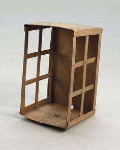 RACHEL WHITEREAD Box, 2013 Bronze 57 x 33 x 31 cm
