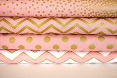 Glitz, from Michael Miller fabrics Fat Quarter bundle in BLUSH - 4 total on Etsy, $16.05 AUD