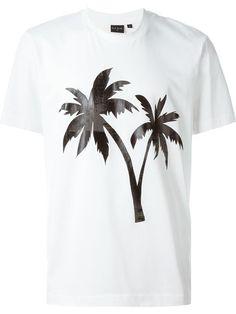 PS Paul Smith T-Shirt Palmen-Print - FS16