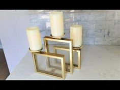 Dollar Store Crafter: Dollar Tree Picture Frame Candle Holder ~ Dollar T.