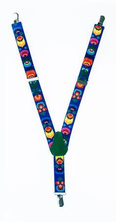 folk suspenders. Polish Folk motifs