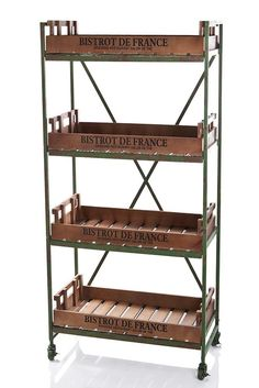 French Bakery Shelf - Industrial Furniture | Interiors Online - Furniture Online & Decorating Accessories