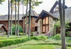 The whimsical home and its pine plantation acreage is on the market for $6.89 million. Barrington Hills. Chicago Magazine.