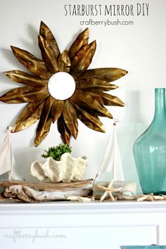 Craftberry Bush: Sunburst Mirror DIY