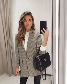 99 Fashionable Office Outfits and Work Attire for Women to Look Chic and Stylish Mode Outfits, Office Outfits, Fashion Outfits, Office Attire, Fashion Pics, Fashion Quotes, Office Wear, Fashion Ideas, Classy Outfits