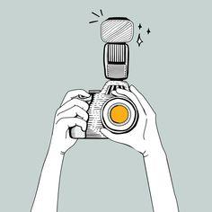- Cameras and Accessories - kamera Tumblr Wallpaper, Camera Wallpaper, Camera Sketches, Camera Drawing, Camera Cartoon, Cartoon Art, Dslr Camera Images, Camera Lens, Camera Clip Art