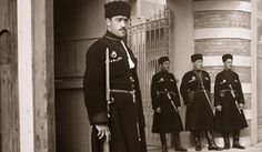 moscow. 1940: Circassian guards at the home of collaborationist Gen. Maxime Weygand. Margaret Bourke-White / Time & Life Pictures-Getty Images