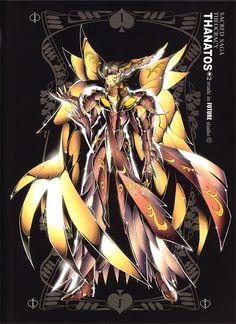 Thanatos. Dioses del Olimpo. Sacred Saga. Saint Seiya Studio Future.