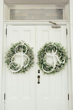 Could we put two wreaths on the inside of the church doors leading to the sanctuary?