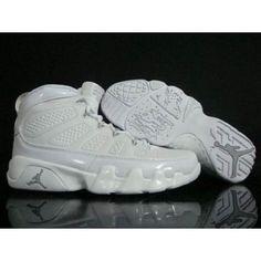 promo code 5b22b 4dcac Nike Retro Air Jordan 9 Men (All White)  58.20 Air Jordan 9, Air