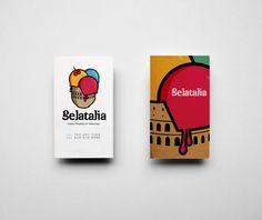 Gelatalia by Abdulaziz Aljafen, via Behance