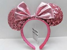 2018 Tokyo Disney Resort Limited Headband Minnie mouse spangle Pink. Release Date: March 1st, 2018. We live near Tokyo Disney. We are glad to help you! We would like to provide good products as well as good service! | eBay!