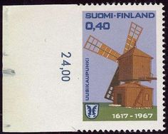 Finland 1967 Uusikaupunki (L. 620) left side IMPERFORATE, from sheet margin, MNH ** rare Dealer Hellman Auctions Auction Starting Price: 440.00 EU...