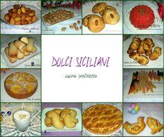 In questa pagina troverete tante ricette di dolci siciliani: biscotti, torte, ciambelle, frittelle, pasticcini e altro. Dolci siciliani - dolci catanesi....