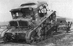 C7P ciągnik ewakuacyjny i artyleryjski