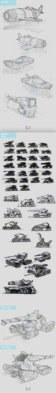 Autombile Sketches - Visual communications by Kidong Kwon, via Behance