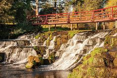 Waterfall On The Rye Water - County Kildare, Ireland Print by Barry O Carroll Rye, Nature Photos, Fine Art America, Ireland, Nature Photography, Waterfall, Instagram Images, Landscape, Outdoor