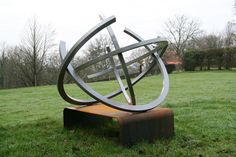 The circle of life 2, Sculptures, Coated steel