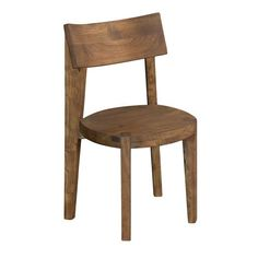 Acacia Brown Dining Chair