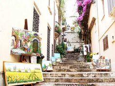 Taormina streets