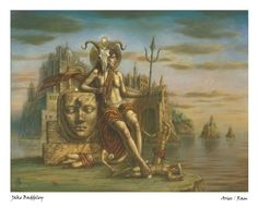 Aries by Jake Baddeley - now available in a limited edition art print