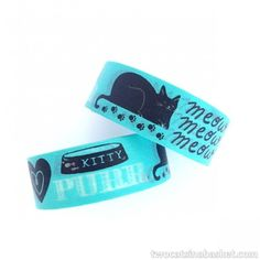 Washi Tape Meow - TWO CATS IN A BASKET