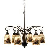 Found it at Wayfair - 6 Light Victorian Pine Barons Chandelier