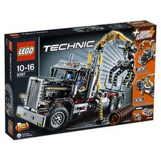 LEGO newest truck. It is motorized. Looks like a combination of 2 of LEGO previous trucks. The Tow Truck 8285 and  the Crane Truck 8258. They are always great. Will only increase in value down the line.