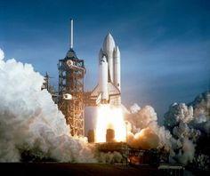 Lo space Shuttle al Decollo