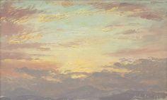 Sunset on July 26, 1870 Frederic Edwin Church.jpg