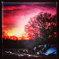 Red sky in the night, Is photographers delight.
